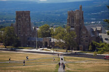 806019 Cornell University Dormitories New York USA A4 Photo Print