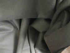 Dress Makers Wool or Wool Blend Fabric Dark Cocoa Brown 1.6 Yd x 57 In Vintage?