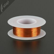 Magnet Wire, Enameled Copper, Natural, 32 AWG (gauge), 200C, ~1/8 lb, 613 ft