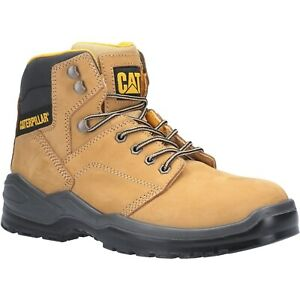 Caterpillar Striver Safety Boots Mens S3 Water Resistant Steel Toe Work Shoe CAT