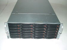 Supermicro 4U 24-Bay Server X8DTN+ 2x Xeon X5570 2.93hz Quad Core / 48gb / Raid