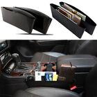 New Black Car Auto Accessories Seat Seam Storage Box Phone Holder Organizer