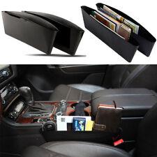 Hot Black Seat Seam Storage Box Phone Holder Organizer Car Auto Acces 37*30*11cm