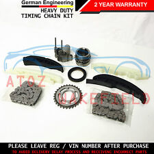 FOR BMW X5 E70 3.0 D UPPER LOWER DIESEL ENGINE TIMING CHAIN KIT M57 D30 07-09