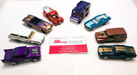 Hot Wheels: Shelby, Mustang, Pickup, GTO, Chevelle & More - Lot of 8 | LOOSE