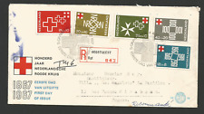 FDC - 1er jour 1967 Nederland timbres sur lettre recommandée  /L1078