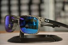 Oakley Holbrook Mix Frostwood Prizm Sapphire Iridium OO9384-12 Sonnenbrille