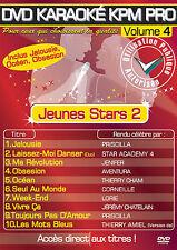 """DVD Karaoké KPM Pro Vol.04 """"Jeunes Stars 2"""""""
