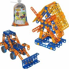 Building like Meccano Play Engineer Educational 330 Pieces Windmill & Tractor