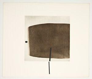 Victor Pasmore Pencil Signed Original Etching & Screenprint 1975 Printer Proof