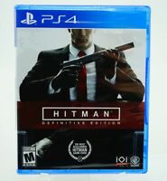 Hitman Definitive Edition: Playstation 4 [Brand New] PS4