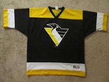 Mario Lemieux Pittsburgh Penguins NHL Hockey Jersey-Adult 2XL-Logo 7