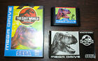 Jeu THE LOST WORLD : JURASSIC PARK Complet pour Sega MEGA DRIVE (MD)
