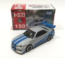Dream TOMICA FAST & FURIOUS BNR34 SKYLINE GT-R ~ diecast vehicles car