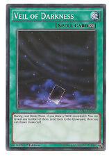 Veil of Darkness DESO-EN052 Super Rare Yu-Gi-Oh Card 1st Edition English Mint