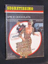 Fernand Berset - Spie e cioccolata - #576 Segretissimo 12/12/1974