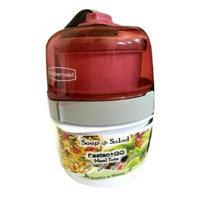 School Office Snack Lunchbox Fasten & Go Soup Salad 3-pc Meal Tote Pink or Green