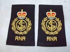 Genuine RNR Royal Navy Reserve Chief Petty Officer CPO Rank Slides / Epaulettes