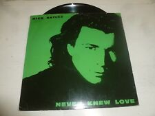 "RICK ASTEY - Never Knew love - 1991 UK 2-Track 12"" vinyl single"