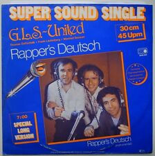"12"" DE**G.L.S.-UNITED - RAPPER'S DEUTSCH (METRONOME '80 / T. GOTTSCHALK)**27132"