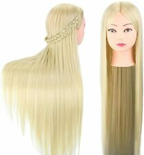 "Hairdressing Head 30"" Styling Head Professional Training Head Mannequin (Blonde)"