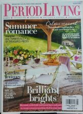 Period Living UK August 2017 Summer Romance Inspiring Cottages FREE SHIPPING sb
