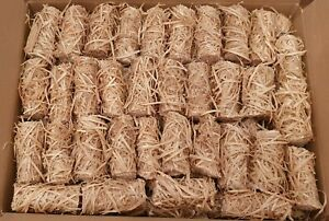 Eco Friendly Natural Wood Wool Fire lighters  100 Pieces