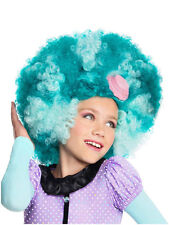 Child Monster High Honey Swamp Wig Fancy Dress Halloween Kids Book Week Girls