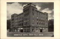 Idaho Falls ID Bonneville Hotel Postcard