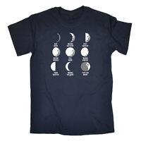 Funny Kids Childrens T-Shirt tee TShirt - Moon Phases Thats No Moon