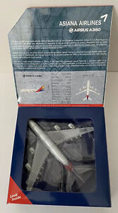 Gemini Jets 1:400 Asiana Airlines Airbus A380 Free Shipping!!
