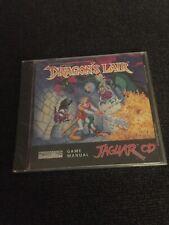 Dragons Lair Atari Jaguar Cd (Brand New Sealed) Rare