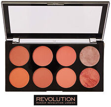 Makeup Revolution Ultra Blush Contour Highlight Powder Palette Hot Spice