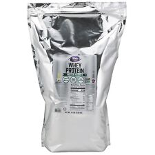 NOW Foods Whey Protein, Natural Vanilla, 10 lb Powder
