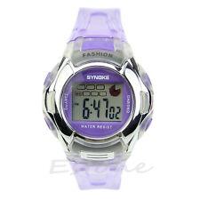Multifunction Waterproof Sport Electronic Digital Wrist Watch For Child Boy Girl