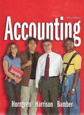 USED (LN) Accounting, 6th Edition, 1-26 (Charles T. Horngren Series in Accountin