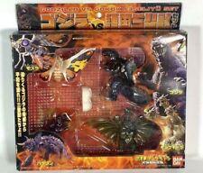 Bandai Godzilla VS Gokoku 3 Seijyu Three Beast Mini Figures 5 Body Set JAPAN