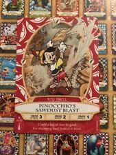 PINOCCHIO'S SAWDUST BLAST 32/70 Disney Sorcerers of The Magic Kingdom SOTMK