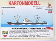 MDK-Verlag 7100 - Kartonmodell - Frachtdampfer Thälmann-Pionier 1957 - 1:250