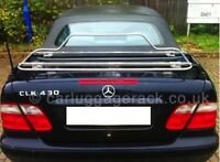 Mercedes Benz CLK Convertible Cabriolet Luggage Boot Rack - Stainless Steel