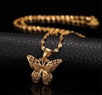 St.kunkka Butterfly Statement Necklaces Pendants Woman Chokers Christmas Gift