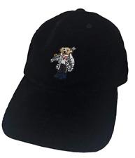9c82cb2f Polo Ralph Lauren Boy's Polo Bear Hat Sz 8-20 Black SKi Cap Corduroy NWT