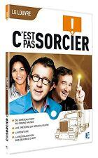 """20157//DVD C'EST PAS SORCIER - LE LOUVRE NEUF DEBALLE 4 X 26"""" SLIM"""