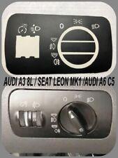 INTERRUPTOR LUZ AUDI A3 8L,S3 8L,SEAT LEON MK1,AUDI A2,AUDI A6 C5 KIT PEGATINAS
