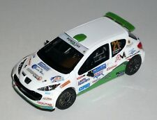 PEUGEOT 207 S2000 ERBETTA 6 RALLY  2017 DECALS 1/43 NO KIT NO MODEL