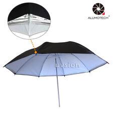 "Soft Box 33"" Black Silver Reflector Umbrella with Light Sphere Flash Light photo"