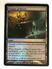 Mtg Magic the Gathering Theros Temple of Deceit FOIL