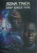 Star Trek DS9 Heroes & Villains DVD Cover Chase Card D3 Sisko and Quark