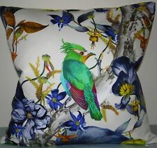 "Osborne & Little, Rainforest, cushion cover,  18 x 18"""