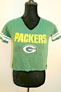 Green Bay Packers NFL Youth Girls T-Shirt Rogers # 12 Short Sleeve size M Medium
